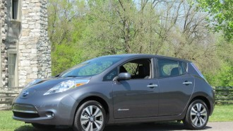 2013 Nissan Leaf, Nashville area test drive, April 2013