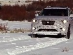 2013 Nissan Pathfinder during winter testing