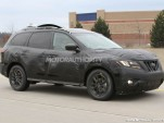 2013 Nissan Pathfinder spy shots