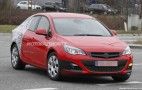 2013 Opel Astra Sedan Spy Video