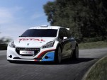 2013 Peugeot 208 T16 Pikes Peak rally car