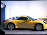 2013 Porsche 911 in 'Motionless Driving' video