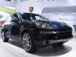2013 Porsche Cayenne Diesel, 2012 New York Auto Show