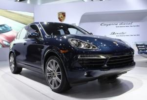 2013 Porsche Cayenne Diesel Live Photos: 2012 New York Auto Show