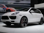 2014 Porsche Cayenne Turbo S live photos, 2013 Detroit Auto Show