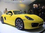 2014 Porsche Cayman S live photos, 2012 L.A. Auto Show