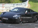 2013 Porsche Cayman prototype spy shots