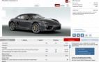 Porsche Launches 2014 Cayman Configurator Site