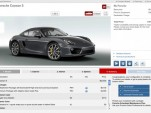 2014 Porsche Cayman S Configurator
