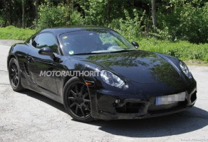 2013 Porsche Cayman spy shots