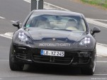2013 Porsche Panamera facelift spy shots