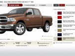 2013 Ram 1500 configurator