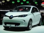 2013 Renault Zoe electric car (European model) at 2012 Paris Auto Show