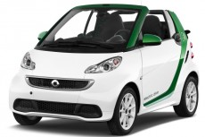 2013 Smart fortwo electric drive 2-door Cabriolet Angular Front Exterior View