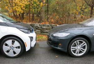 Tesla Model S Vs BMW i3: Electric-Car Efficiency Comparison Test