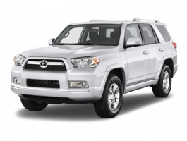 2013 Toyota 4Runner RWD 4-door V6 SR5 (Natl) Angular Front Exterior View