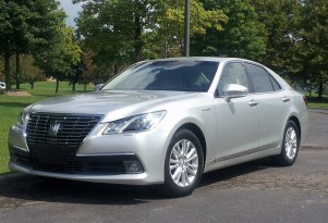Toyota Crown Royal Saloon: Driving The 'Hybrid Brougham' Luxury Sedan