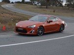 2013 Toyota GT 86 with handling upgrades - Image: Malcolm Flynn