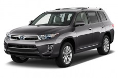 2013 Toyota Highlander Hybrid 4WD 4-door Limited (Natl) Angular Front Exterior View