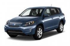 2013 Toyota RAV4 EV FWD 4-door Angular Front Exterior View