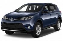 2013 Toyota RAV4 FWD 4-door XLE (Natl) Angular Front Exterior View