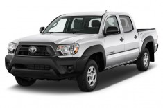 2013 Toyota Tacoma 2WD Double Cab I4 AT (Natl) Angular Front Exterior View