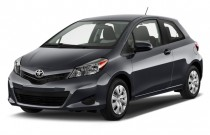 2013 Toyota Yaris 3dr Liftback Auto LE (Natl) Angular Front Exterior View
