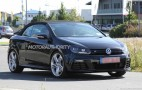 2013 Volkswagen Golf R Cabrio Spy Shots