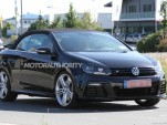 2013 Volkswagen Golf R Cabriolet spy shots