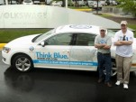 2013 Volkswagen Passat TDI fuel economy world record attempt