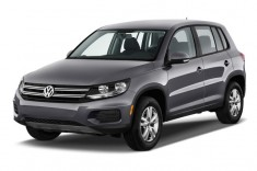 2013 Volkswagen Tiguan 2WD 4-door Auto S Angular Front Exterior View