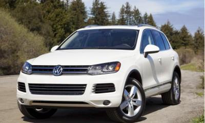 2013 Volkswagen Touareg Photos