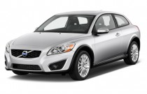 2013 Volvo C30 2-door Coupe Auto Angular Front Exterior View