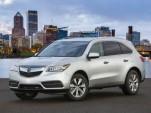 2014 Acura MDX, Acura RDX Earn Five-Star Crash Test Rating