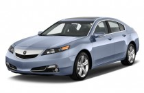 2014 Acura TL 4-door Sedan Auto 2WD Advance Angular Front Exterior View