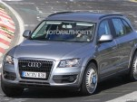 2014 Audi Q6 test-mule spy shots