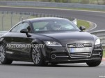 2014 Audi TT test mule spy shots