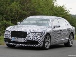 2014 Bentley Continental Flying Spur V8 spy shots