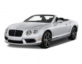 2014 Bentley Continental GT 2-door Convertible Angular Front Exterior View