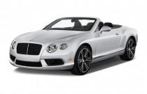 2014 Bentley Continental GT 2-door Convertible Angular Front Exterior View