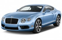 2014 Bentley Continental GT V8 2-door Coupe Angular Front Exterior View