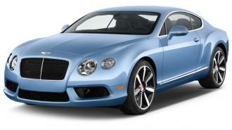 2014 Bentley Continental GT V8 2-door Coupe Angular Front Exterior View