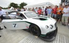 2014 Bentley Continental GT3: Photos And Video From Goodwood