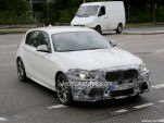 2014 BMW 1-Series Hatchback facelift spy shots
