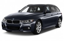 2014 BMW 3-Series 4-door Sports Wagon 328i xDrive AWD Angular Front Exterior View