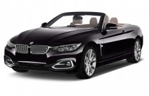 2014 BMW 4-Series 2-door Convertible 428i RWD Angular Front Exterior View