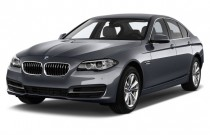 2014 BMW 5-Series 4-door Sedan 528i RWD Angular Front Exterior View
