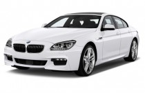2014 BMW 6-Series 4-door Sedan 640i Gran Coupe Angular Front Exterior View