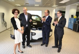 First 2014 BMW i3 Electric Car Delivered To Buyer, In Boston