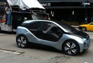 2014 BMW i3 Electric Car Spotted During Filming In Chicago